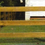 Farm Fence 3 Board wire included